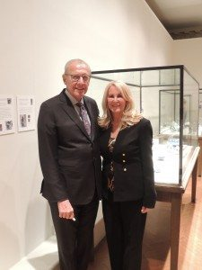 Museum Board Members Frank Castagna and Susan Angela Anton