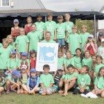 Junior sailors from local yacht clubs participate in an educational program provided by Save The Sound, where they learned all about Long Island Sound and how to protect it and our bay.