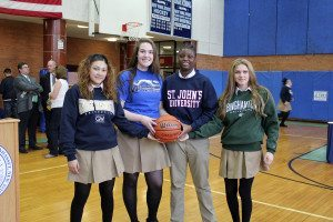 Saint Mary's offers an all-inclusive athletic program, which has won 63 state league titles, including the girls Varsity basketball team's NSCHSGAA league title for the past two years.