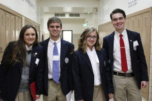 What is a St. Mary's education? Just ask one of these senior student ambassadors who have been given the tools by St. Mary's to succeed in the next level of their education.