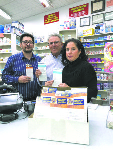 Raindew Family Centers and Pharmacy distribute Generation Rx cards in pharmacy bags and to customers.